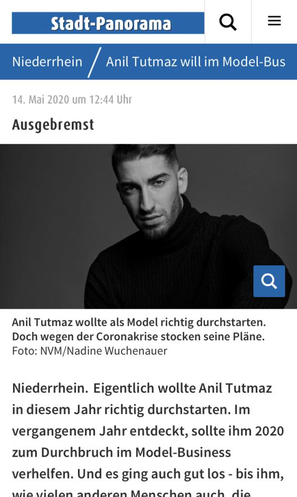 Rheinische Post: Anil Tutmaz